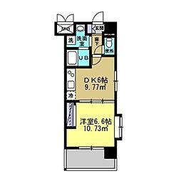 MANAKA BLD[401号室]の間取り