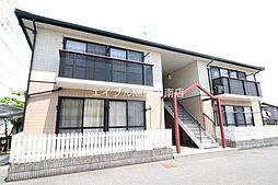 岡山県都窪郡早島町前潟丁目なしの賃貸アパートの外観