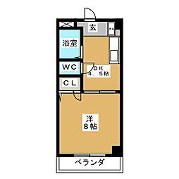 Comfort・City[3階]の間取り