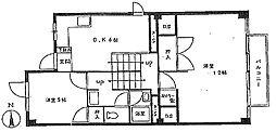 高円寺サンハイツ[12階]の間取り