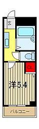 シャトレTANAKA[2階]の間取り