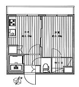 前面はマンション敷地で、通りに面していないお部屋。平成29年6月に新規内装デザインリフォーム済み。