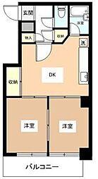 ソレイユイワサキ[1−B号室]の間取り