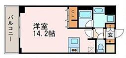 プレサンス名古屋駅前アクシス[11階]の間取り
