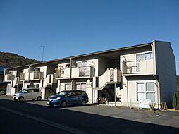 滋賀県東近江市八日市松尾町の賃貸アパートの外観