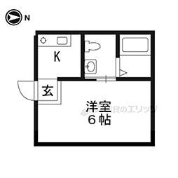 椥辻駅 3.5万円