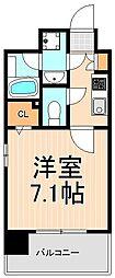XEBEC浅草ARIA[401号室]の間取り