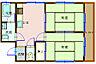 間取り,2DK,面積36.03m2,賃料5.5万円,バス 市役所前下車 徒歩3分,,広島県呉市中央6丁目11-3