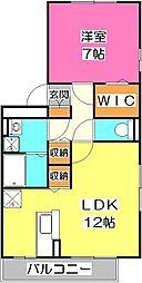 セジュールZEN壱番館[3階]の間取り