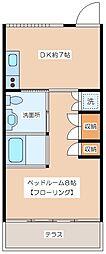 Y House[3階]の間取り