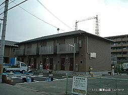 大阪府東大阪市新池島町3丁目の賃貸アパートの外観