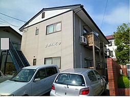 長野県諏訪市湯の脇2丁目の賃貸アパートの外観