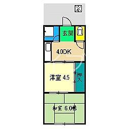 和泉荘[2階]の間取り