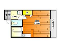 アルファビル[2階]の間取り