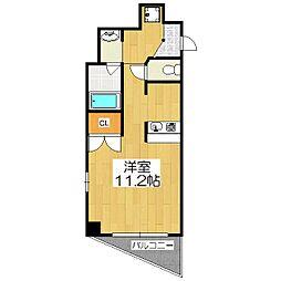 山科IMビル[6階]の間取り