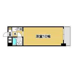 第一栄ビル[102号室]の間取り