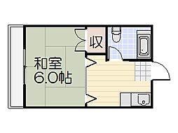 山栄ビル[305号室]の間取り