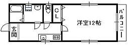 [テラスハウス] 大阪府大阪市東成区大今里1丁目 の賃貸【/】の間取り
