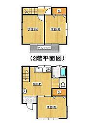[一戸建] 千葉県松戸市五香6丁目 の賃貸【/】の間取り