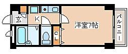 兵庫県神戸市西区南別府3丁目の賃貸マンションの間取り