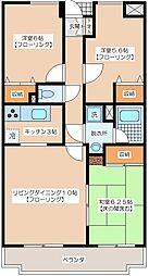 成城七番館[1階]の間取り