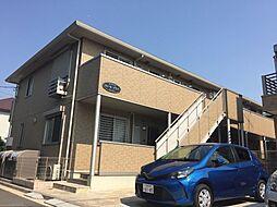 神奈川県横浜市神奈川区六角橋2丁目の賃貸アパートの外観