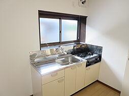 既設のキッチン...