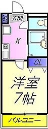 REALJOY薬円台六番[302号室]の間取り