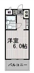 ユースピア大倉山[3階]の間取り
