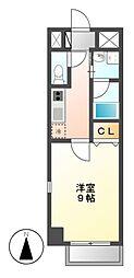 ラクラス浅間町[2階]の間取り