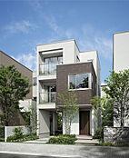 建物施工例。ご希望のマイホームを建てませんか。