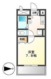 ノーブルハウス吉田[2階]の間取り