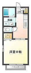 ファーストミレニアム[1階]の間取り