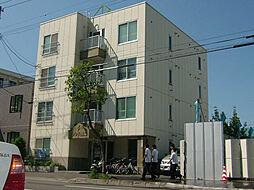 北海道札幌市東区北十三条東8丁目の賃貸マンションの外観