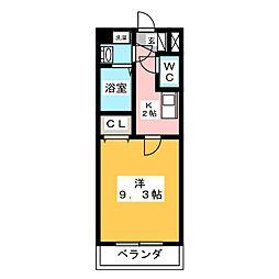 エテルノ富貴ノ台[4階]の間取り