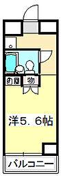 兵庫県姫路市北条口1丁目の賃貸マンションの間取り