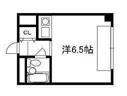 セ・モア京都[701号室]の間取り