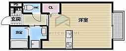 メゾンドゥ長瀬II[2階]の間取り