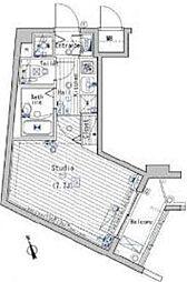 ガーラヒルズ目黒東山[2階]の間取り