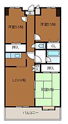 第3SKビル[3階]の間取り