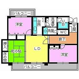 西鉄平尾駅 9.0万円