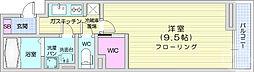 仙台市営南北線 泉中央駅 徒歩5分の賃貸アパート 1階1Kの間取り