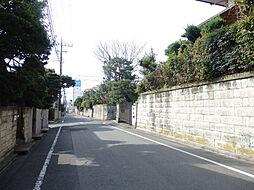 代沢の住宅街