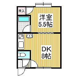 セフティ1[1階]の間取り