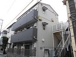 東京都板橋区中板橋の賃貸アパートの外観
