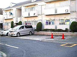 東京都目黒区緑が丘2丁目の賃貸アパートの外観