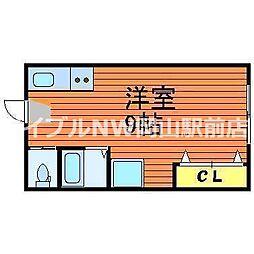 西川原駅 2.1万円