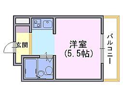 ウインライフ淀[2階]の間取り