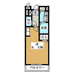 ナカイパレス PartII[3階]の間取り