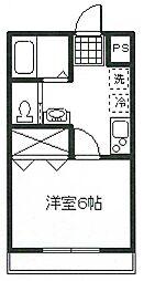 コート東小金井[1階]の間取り